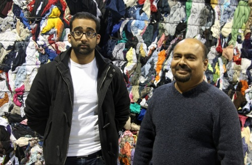 Dushan and Marc Nanthakumar at DYN Exports in Vaughan, Ontario