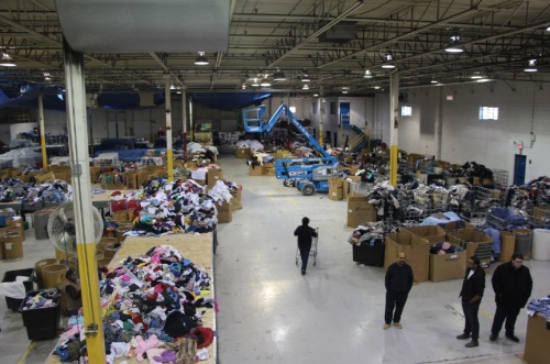 The DYN warehouse in Vaughan, Ontario.
